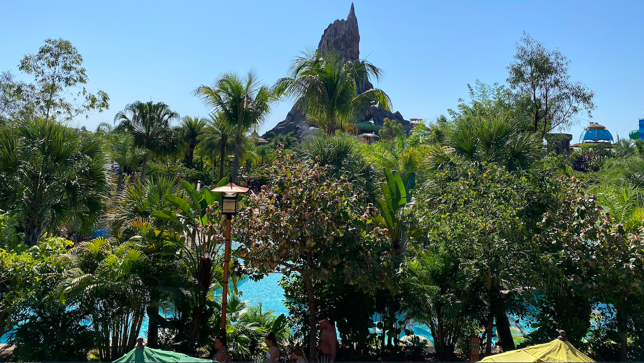 Volcano Bay from 14D